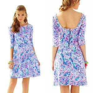 Lilly Pulitzer XL Celia Fit & Flare Dress